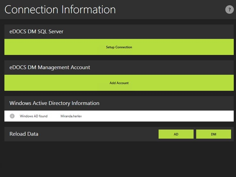 DM Sync Manager provides automated sync from MS AD to eDOCS - timesaving tool for system admins!